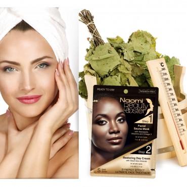 Facial Sauna Mask + Restoring Day Cream
